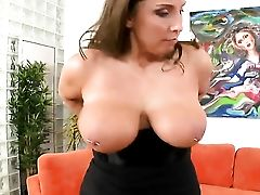 Black-haired Honey Doll Stacie Starr With Massive Jugs And Slick Cunt And Hard Cocked Fellow Love Oral Lovemaking