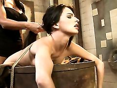 Dark-haired Ann Marie La Sante Has Unthinkable Girl/girl Fuck-fest With Mandy Bright