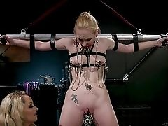 Bondage & Discipline Fem Dom Special With Delirious Hunter And Aiden Starr