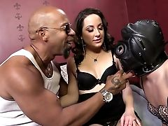 Masked Servant Hubby Has To Obey Marley Blaze And Her Black Paramour