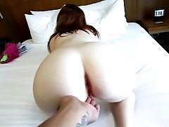 First-timer Bitch Fucked And Creamed In Point Of View