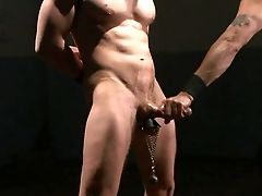 Paraffin Wax On Beef Whistle For Obedient Alex Adams