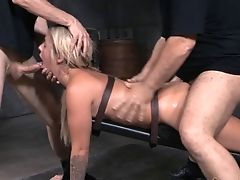Sexy Madelyn Monroe Getting A Hard Prone-bone Basement Treatment