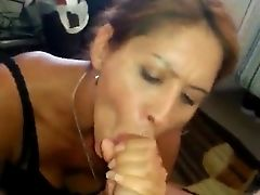 Amareur Latina Cougar Oral Job And Pop-shot