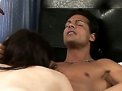 Nick Manning Bangs Rayveness In Her Mouth As Hard As Possible In Oral Act