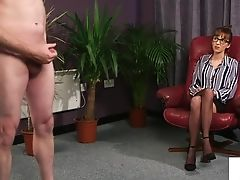 Brit Cfnm Office Hidden Cam Likes Joi