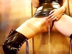 Smoking Kink Mistress Pissing Internal Ejaculation - Lydia Luxy Homemade Hotwife