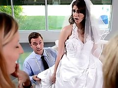 Say Yes To Getting Fucked In Your Wedding Sundress