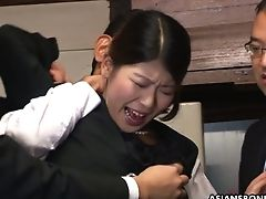 Two Co-employees Fuck And Plaything Cunny Of Horny Japanese Gal Aoi Wajo