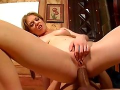 Neat Nymphomaniac Haley Scott Gets Ruthlessly Fucked On The Dining Table