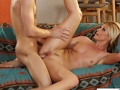 Youthfull Dude Has The Honor Of Fucking Stunning Mommy Of His Friend India Summer