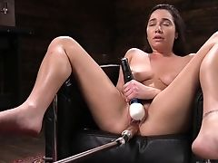Wondrous Emotional Chesty Karlee Grey Has Some Fucky-fucky Playthings For Petting Twat