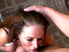 Brooke Belle Is A Chesty Cougar, Who Loves Making Hot And Gentle Oral Jobs