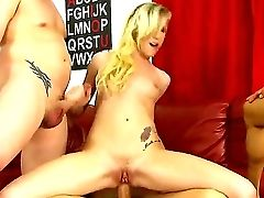 Revved On Experienced Tattooed Bangers Jenner, Jerry And Asian Stud  Keni Styles Fucks Hard Slender Blonde Anal Invasion Whore Maia Davis With Non-tra