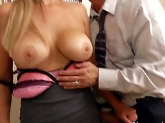 Gorgeous And Lusty Blonde Assistant Abbey Brooks Love In Getting