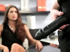 Hot Belt Dick Fuck With Veronica Vain And Stoya