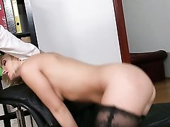 Blonde With Gigantic Tits Is On Fire In Cum-shot Fuck-a-thon Act