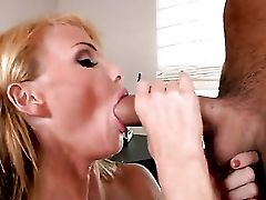 Blonde Taylor Wane Gets A Throatful Of Boner In Oral Activity With Voodoo