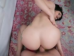 Awesome Bootyful Black-haired Mandy Muse Is Impatient To Be Fucked Fairly Hard