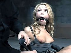 Beautiful Alina West Having Her Cunt Tormented In An Elaborate Way