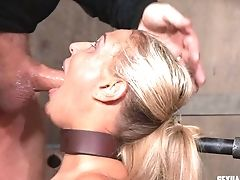 Cry As Plaything Kink Servant Gash Is Frigged Superbly In Bondage & Discipline Porno