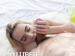 Greased Easter Day Oiled Up Fuck And Facial Cumshot