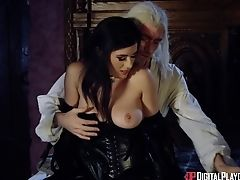 Game Parody With Attractive Cougar Adult Movie Star Olive Glass. Hd