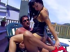 Vicky Storm Makes Big Dick Vanish In Her Insatiable Mouth. She Makes Spectacular Dt And Begs For A Fine Lengthy Bang-out. The Man Fucks Her In All Pos