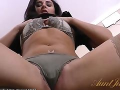 Sheena Strokes Her Matures Puss And Squeals