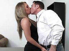 Sexy Employee Harley Jade Will Do Anything For Raise
