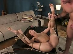 Obedient Sexy Naked Nymphomaniac Zoe Sparx Gets Arched Over And Analfucked Rear End