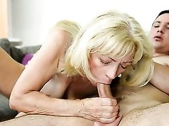 Blonde Does Her Best To Make Man Finish Off In Hard-core Activity