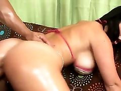 Derrick Pierce Oiles Up Jayden Jaymes And Severly Pounds Her In Rear End Style Way