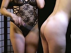 Matures Mistress Princess Starla Is Spanking Provocative Tied Up Blonde