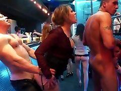 Crazy Have Fun During Hot Porno Soiree