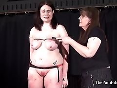 Chubby Lezzie Marionette Alyss Erotic Whipping