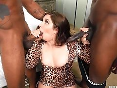 Male Domination Flick With Keira Croft Being Fucked By Her Black Friends
