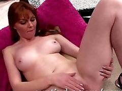 Matures Red-haired Marie Mccray Lays Down And Masturbates