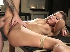 Having Palms Tied Up Behind Her Back Big-boobed Hoe Moka Mora Is Worth Buttfuck