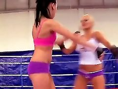 Hot Teenagers Becky Stevens And Barbie Black Caress And Gobble Each Other After A Steamy Nude Fight