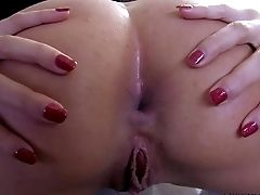 Pretty Sexy Anissa Kate With Crimson Plumbs Gets Naked While