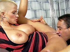 Joslyn James Is A Magnificent Blonde Cougar With Brief Blondie